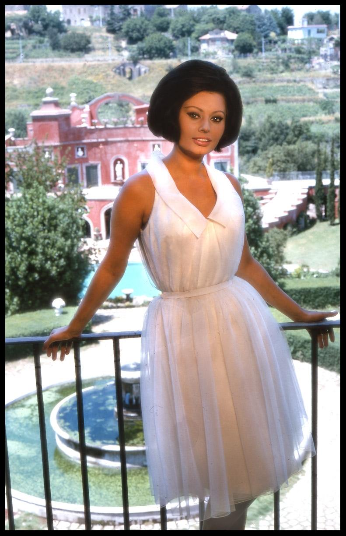Sophia Loren c.1970 from original 35mm transparency