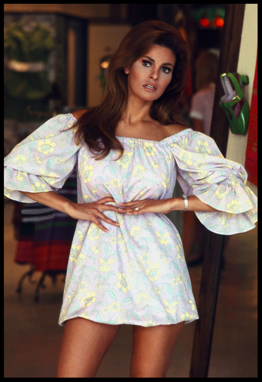 Raquel Welch c.1969 from original 35mm transparency