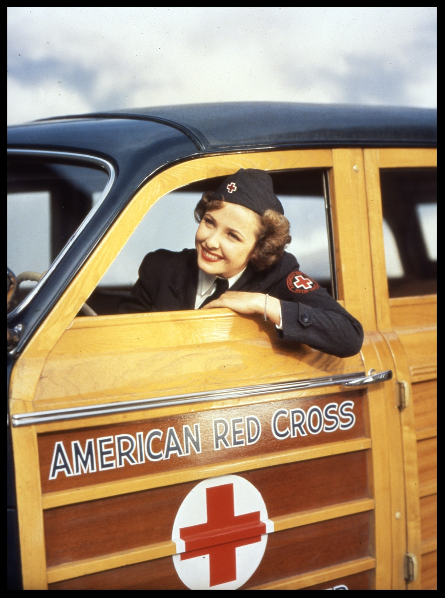 American Red Cross c.1950 from original 4x5 transparency