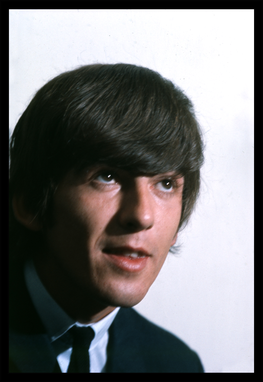 Young George Harrison c.1965 from original 35mm transparency