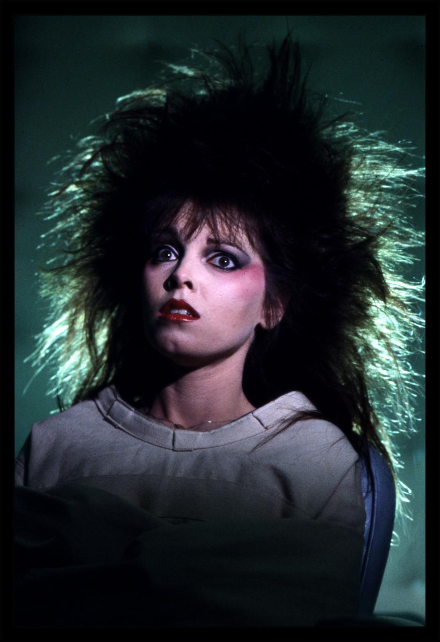 Pat Benatar c.1982 from original 35mm transparency