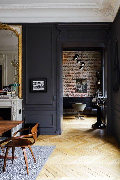 Le noir en décoration_une couleur très élégante_miluQi Studio_Décoration et Architecture Intérieur à Montpellier