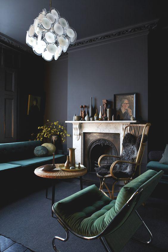 Le noir en décoration_pour apporter une touche masculine_miluQi Studio_Décoration et Architecture Intérieur à Montpellier