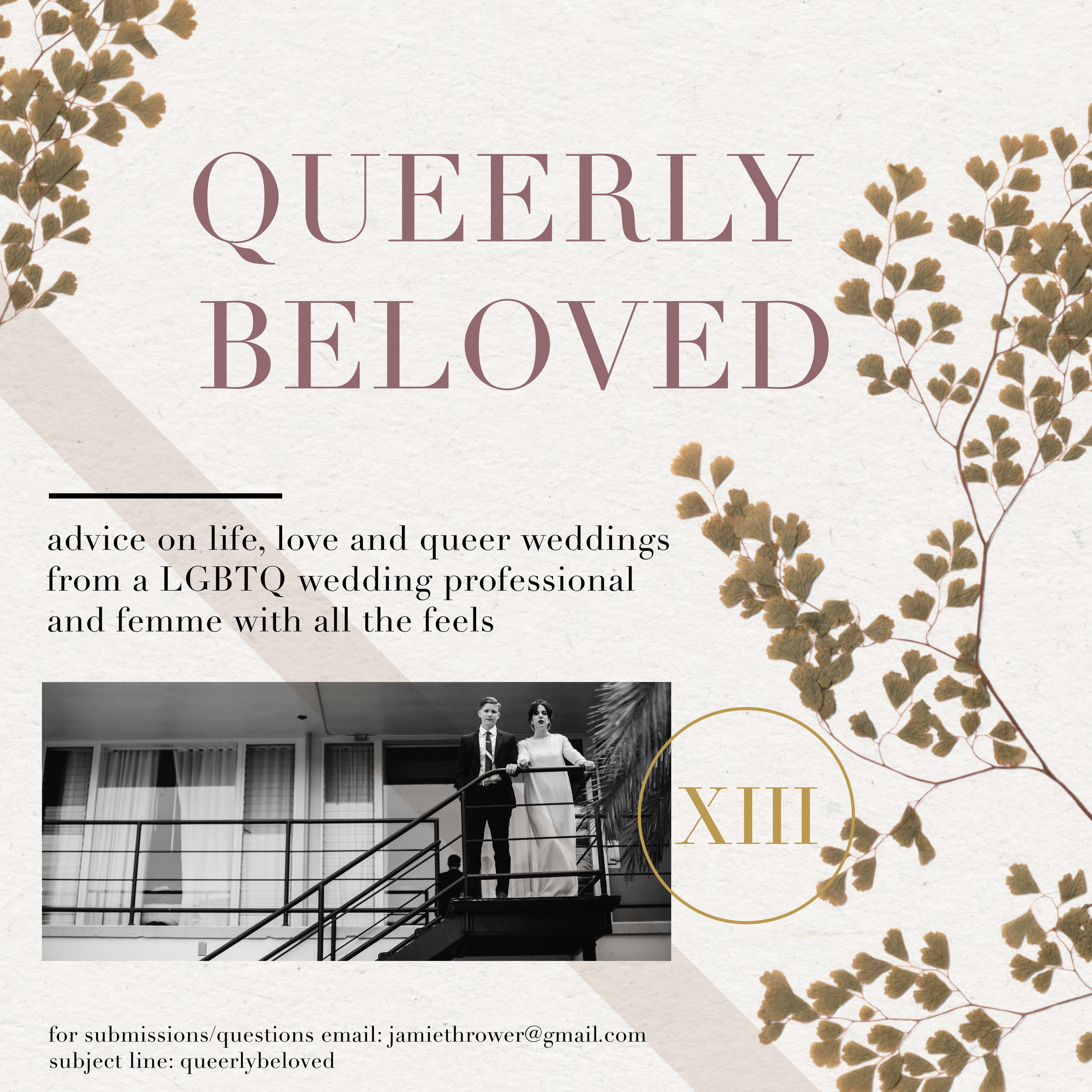 Make sure to check our our monthly column, Queerly Beloved!