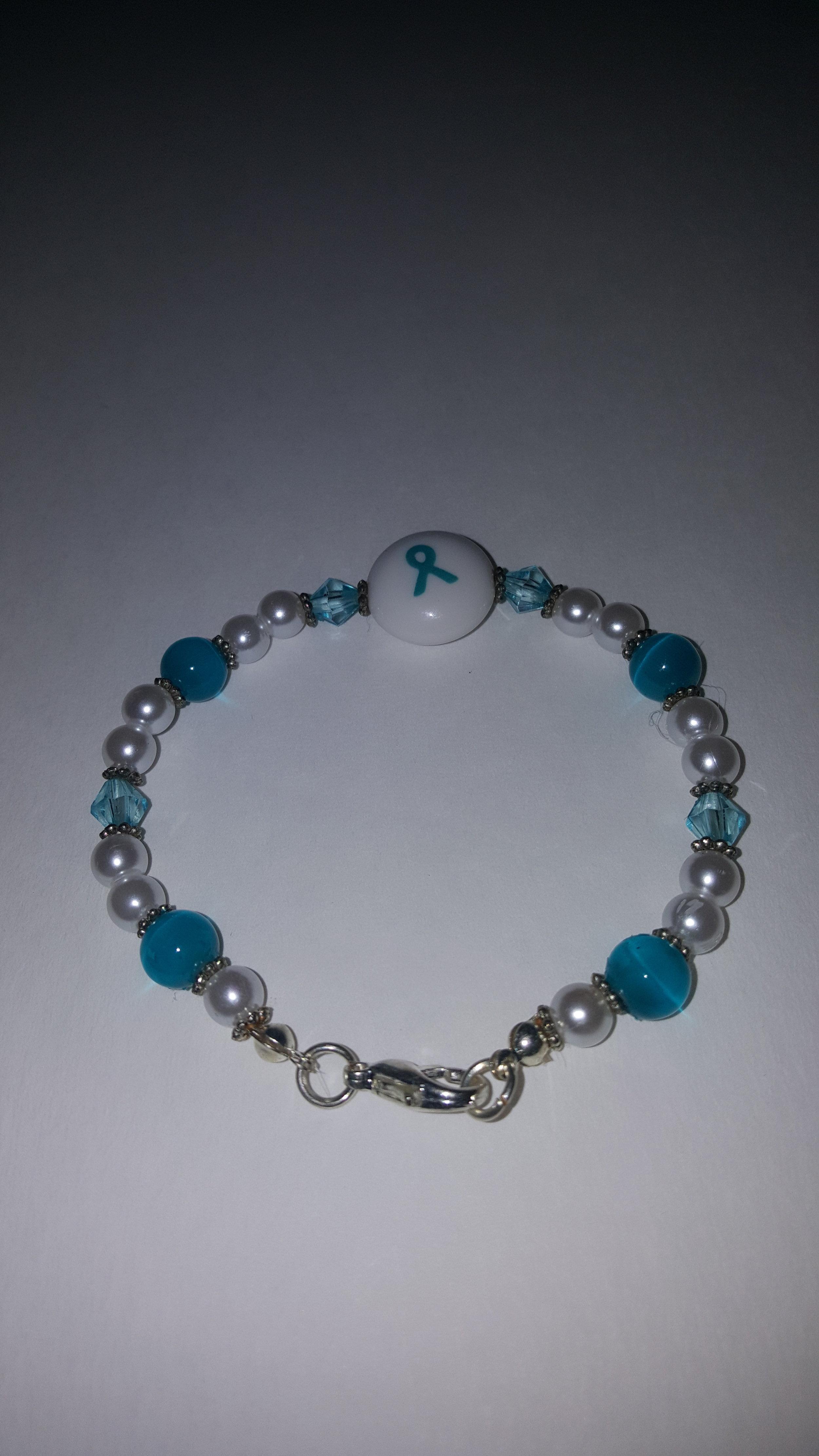 Ovarian Cancer Awareness Bracelet Hopeless Rhomantic Llc