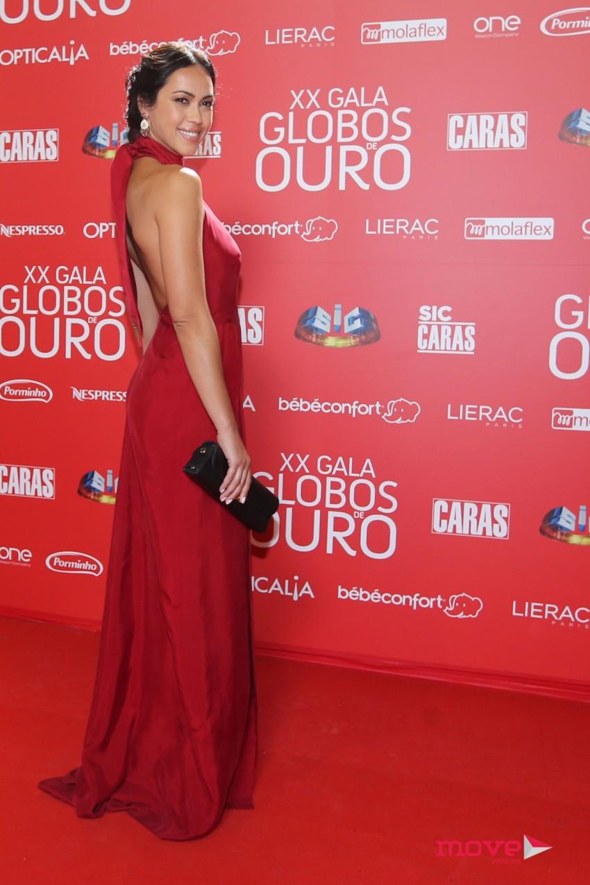 Débora Monteiro, Globos Ouro, Maio 2015