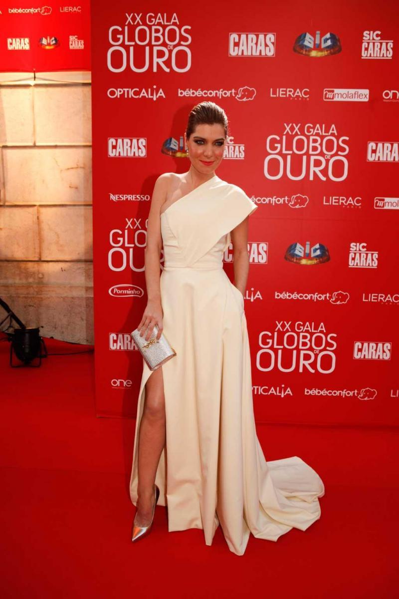 Raquel Strada, Globos Ouro, Maio 2015