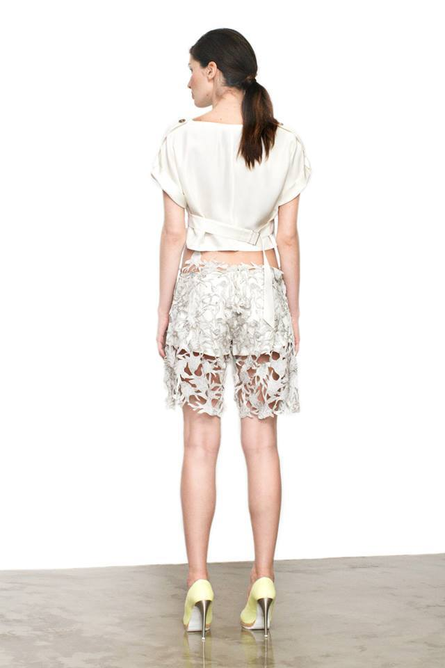 Deer Laced Shorts   One available size 36. Original Price 350€ | Discount Price 140€ Ref. LCSS15S32  *shoes are also available for sale