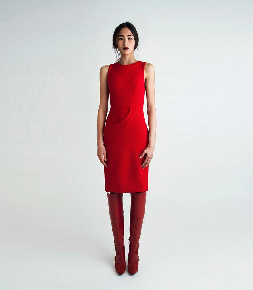 Red Dress   One size available 36. Original Price 250€ | Discount Price 100€ Ref. LCFW1435