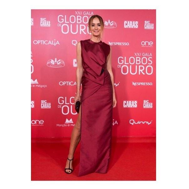 Elsa Gervásio, Gala Globos Ouro, Maio 2017