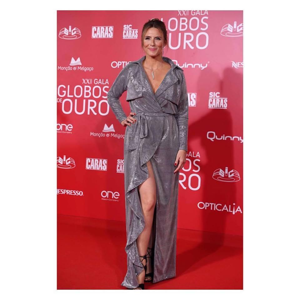 Sofia Cerveira, Gala Globos Ouro, Maio 2017