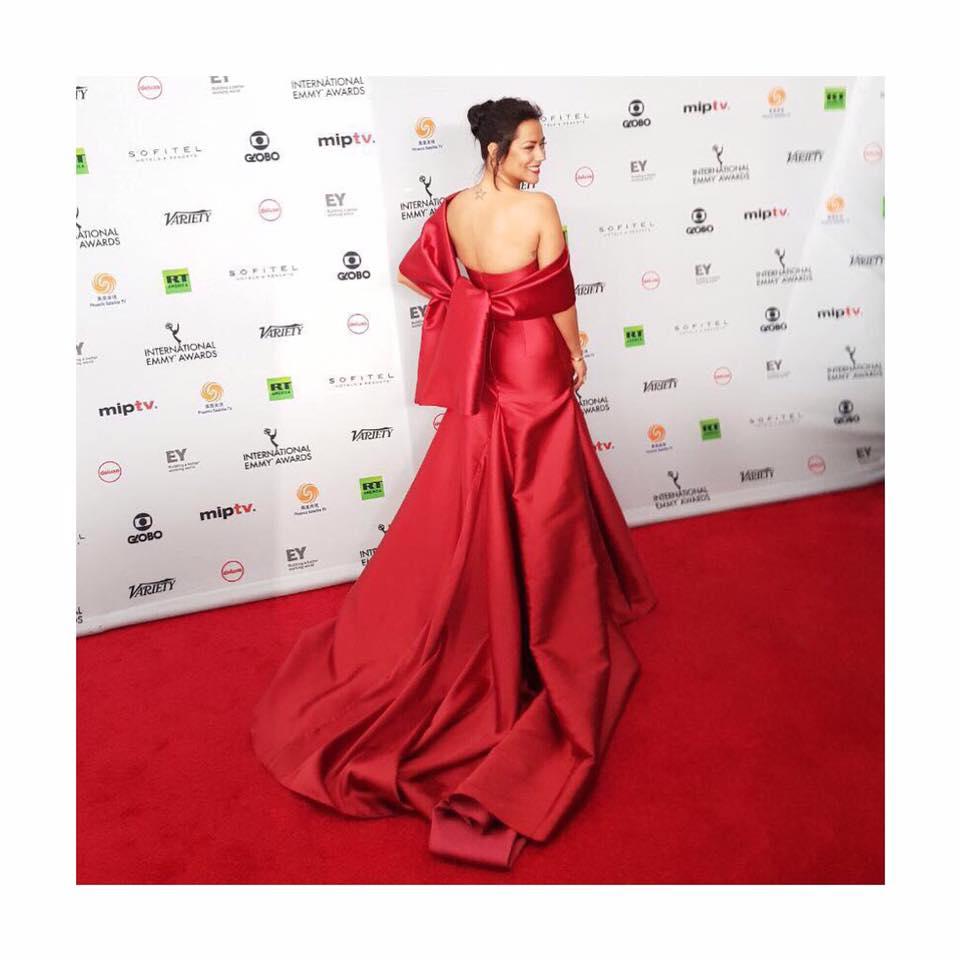 Sofia Ribeiro, International Emmys NY, Novembro 2017