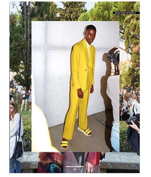 collezioni fashion magazine, janeiro 2018
