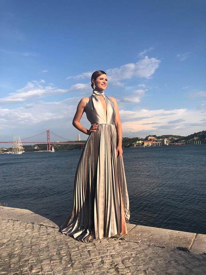 silvia alberto, eurovision blue carpet, maio 2018