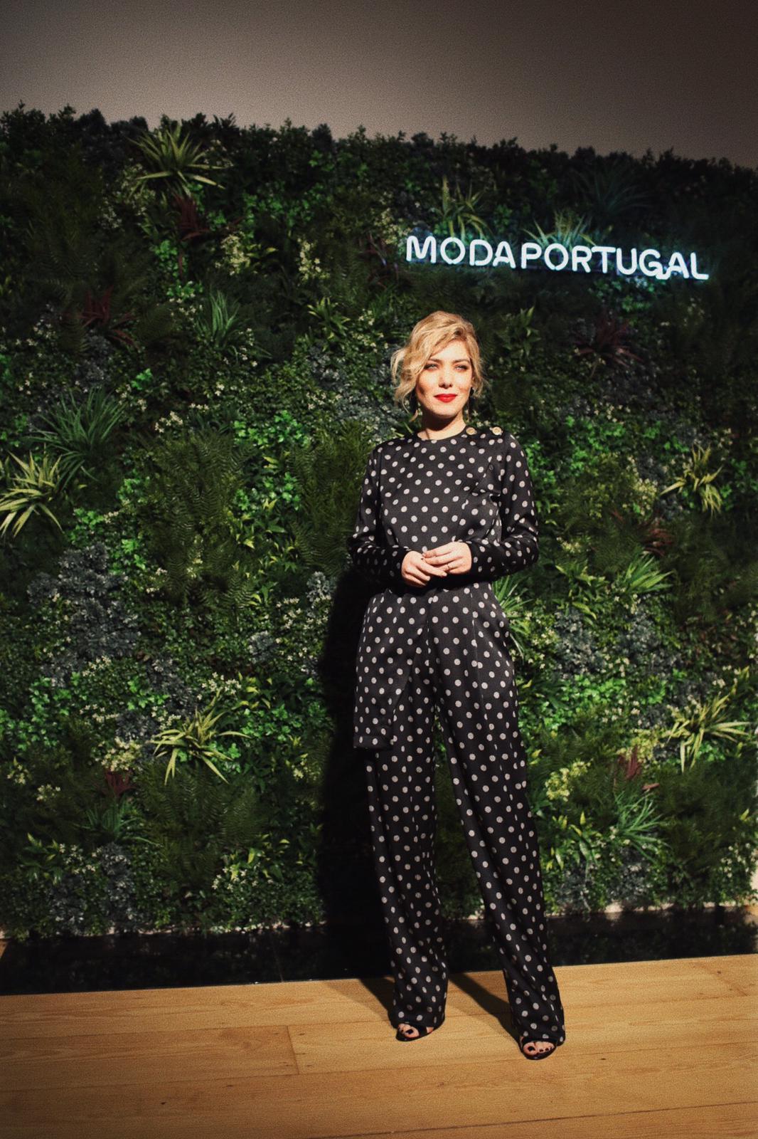 Raquel Strada, Gala Moda Portugal, Dezembro 2019