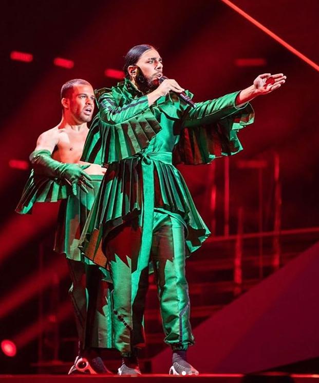 Conan Osiris, Semi-Final Gala Eurovision, Maio 2019