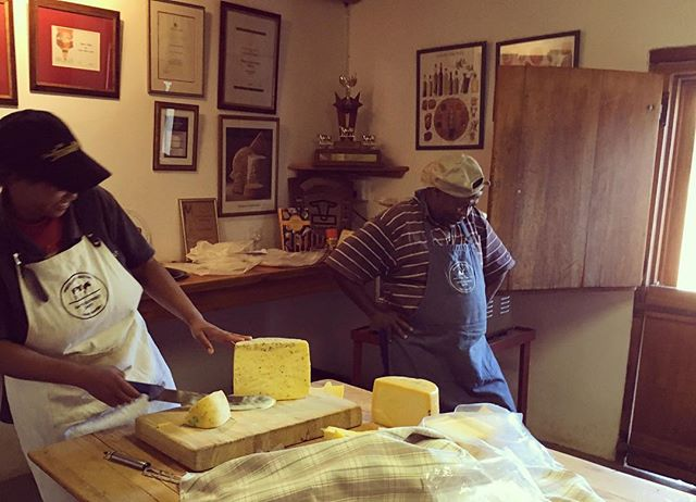 You know the cheese is good when Abraham starts to jive #happycheesemaker #happydairy #southafricancheese #gaysguernseydairy 👌🏿👌🏿👌🏿