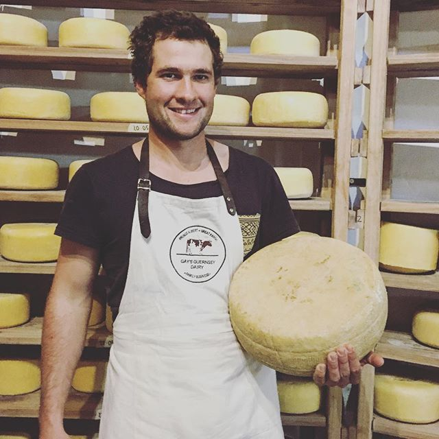 Turning Rounds of Parma Prince #parmesan #gaysguernseydairy #parmaprince #cheese #princealbert