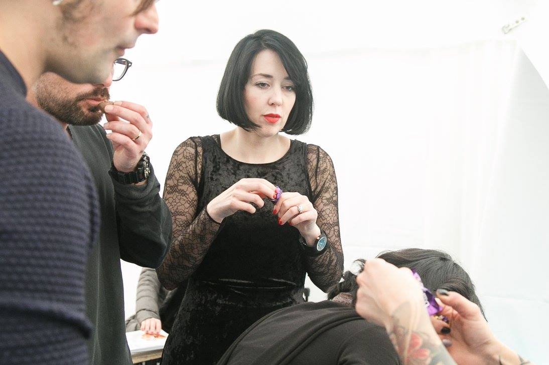 Hair Stylist Jude Rizzo in Rome for the White Collection, 2018