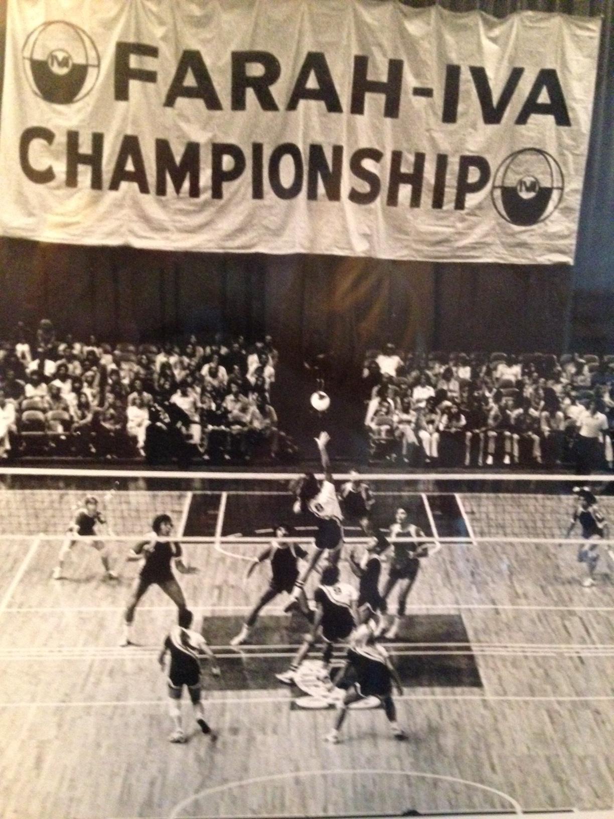 IVA 1975 Championship Match - Los Angeles Stars versus San Diego Breakers