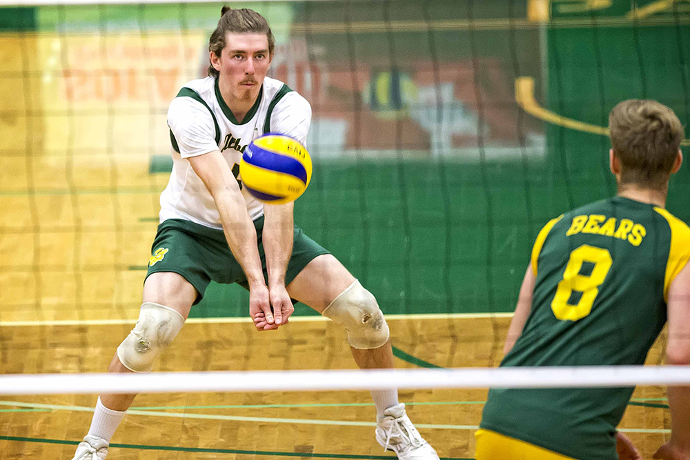 Reed May - libero - Alberta Golden Bears