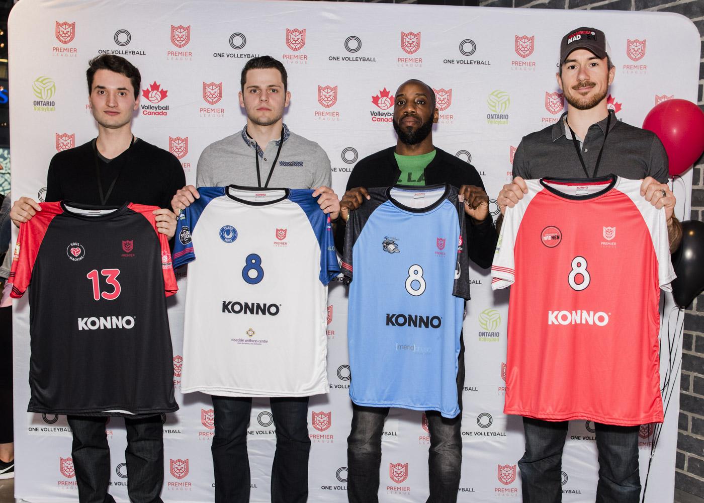 2018 men's Premier League jerseys