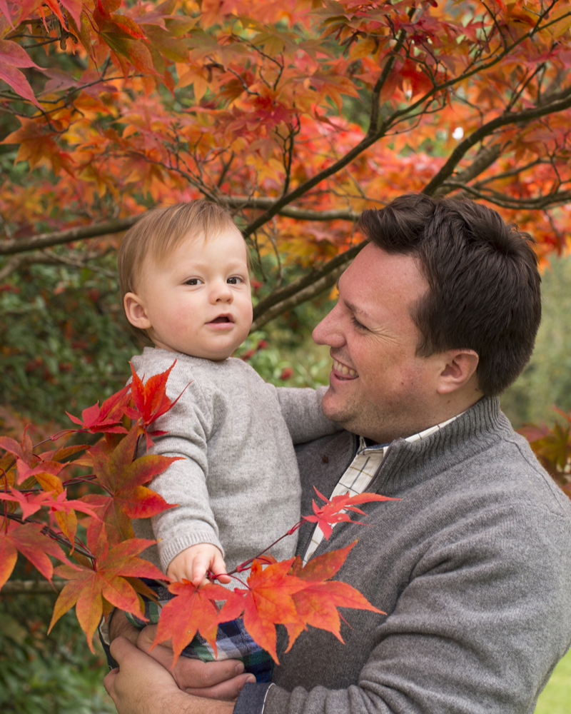 autumn family photography