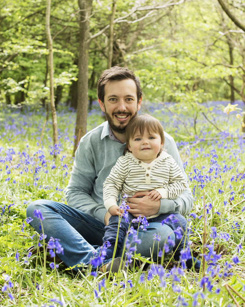 bluebell family shoot haywards heath