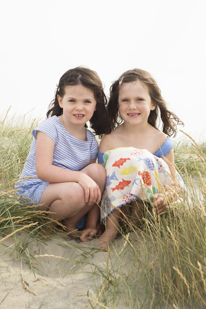family beach shoot sussex