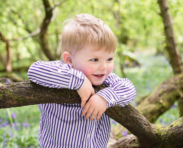 Happy Birthday to this little man! One of my favourites from a fun shoot in the woods recently.