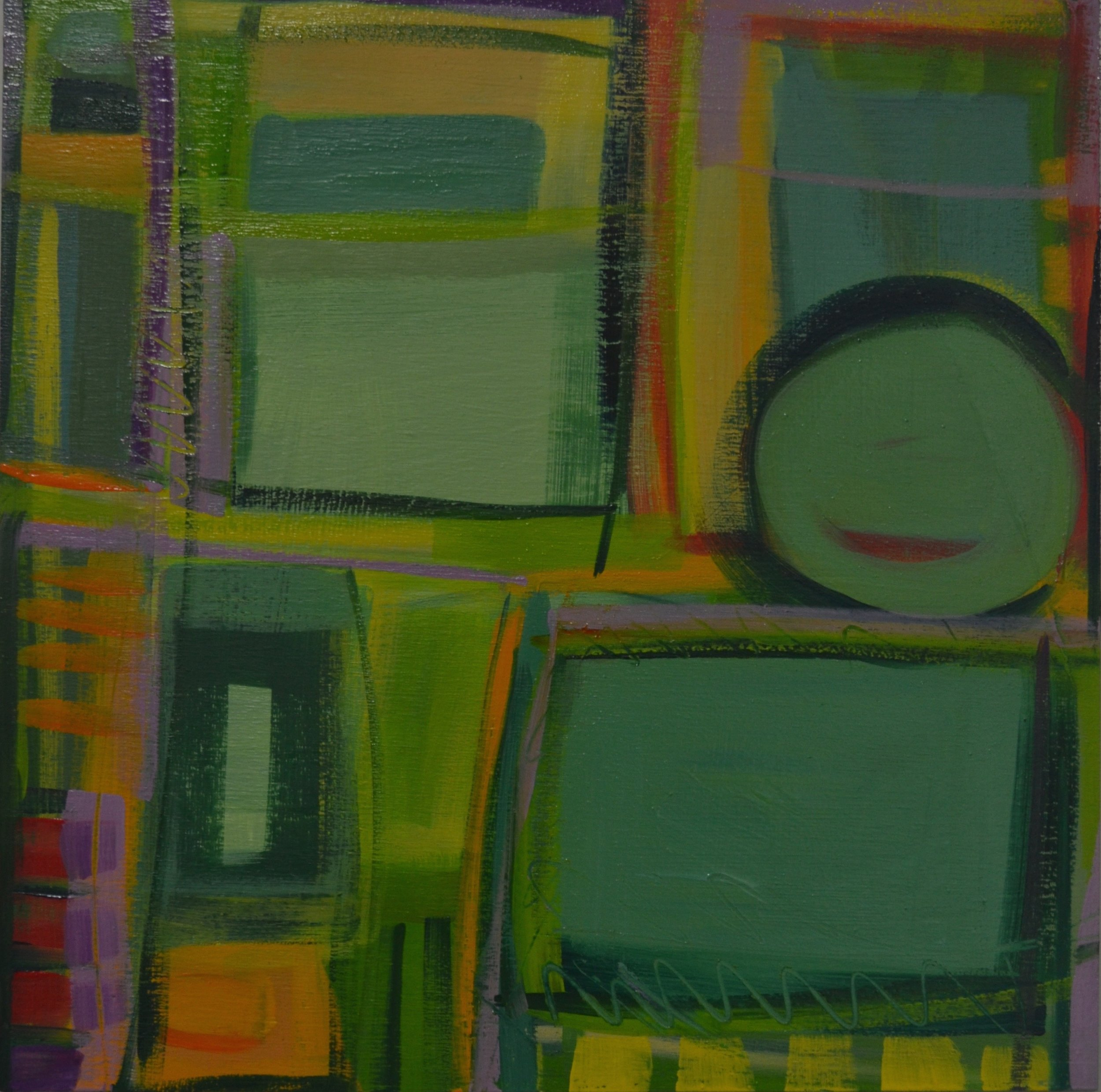 """Above Green Fields"" No. 1, 2016"