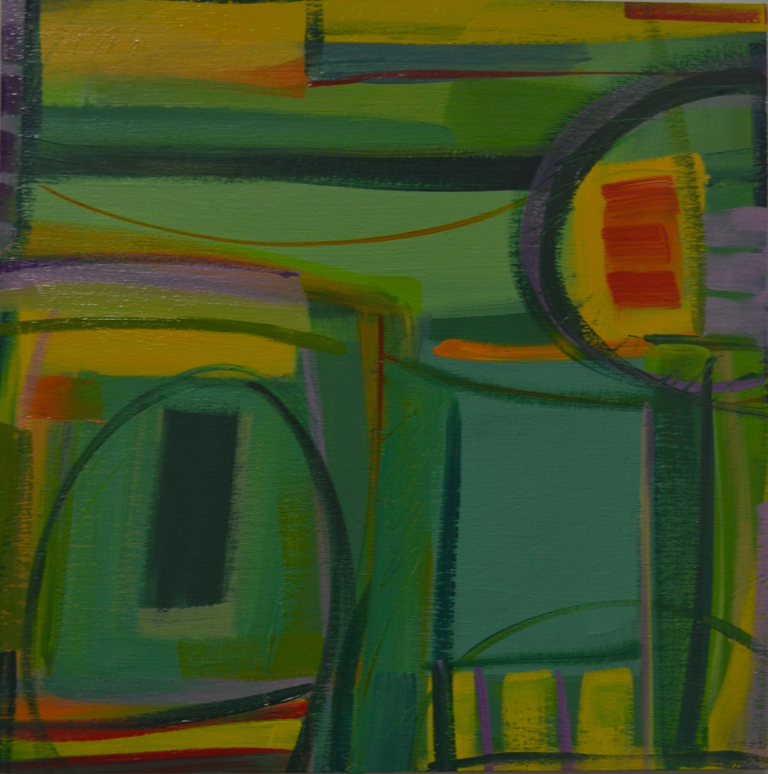 """Above Green Fields"" No. 3, 2016"