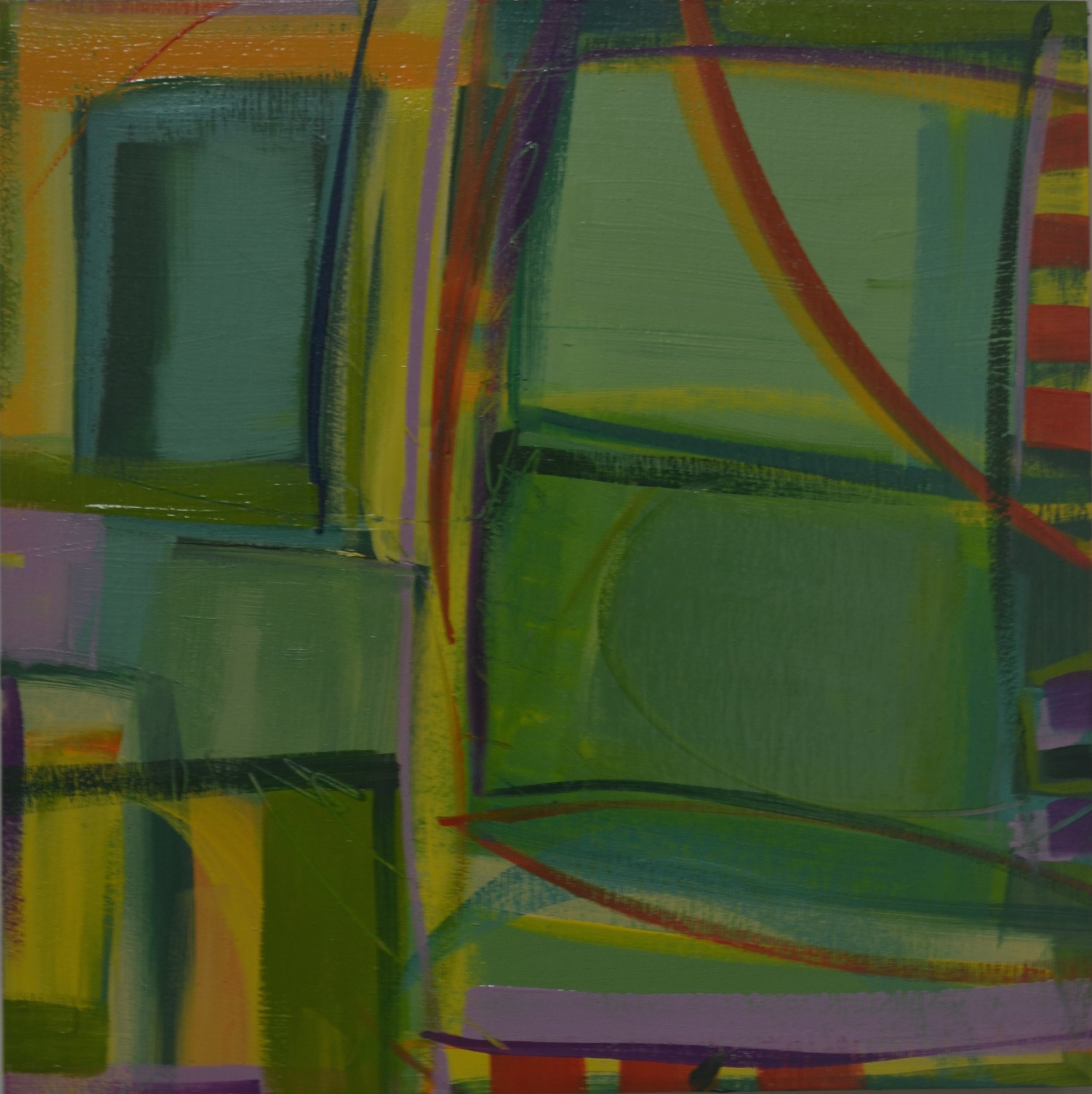 """Above Green Fields"" No. 5, 2016"