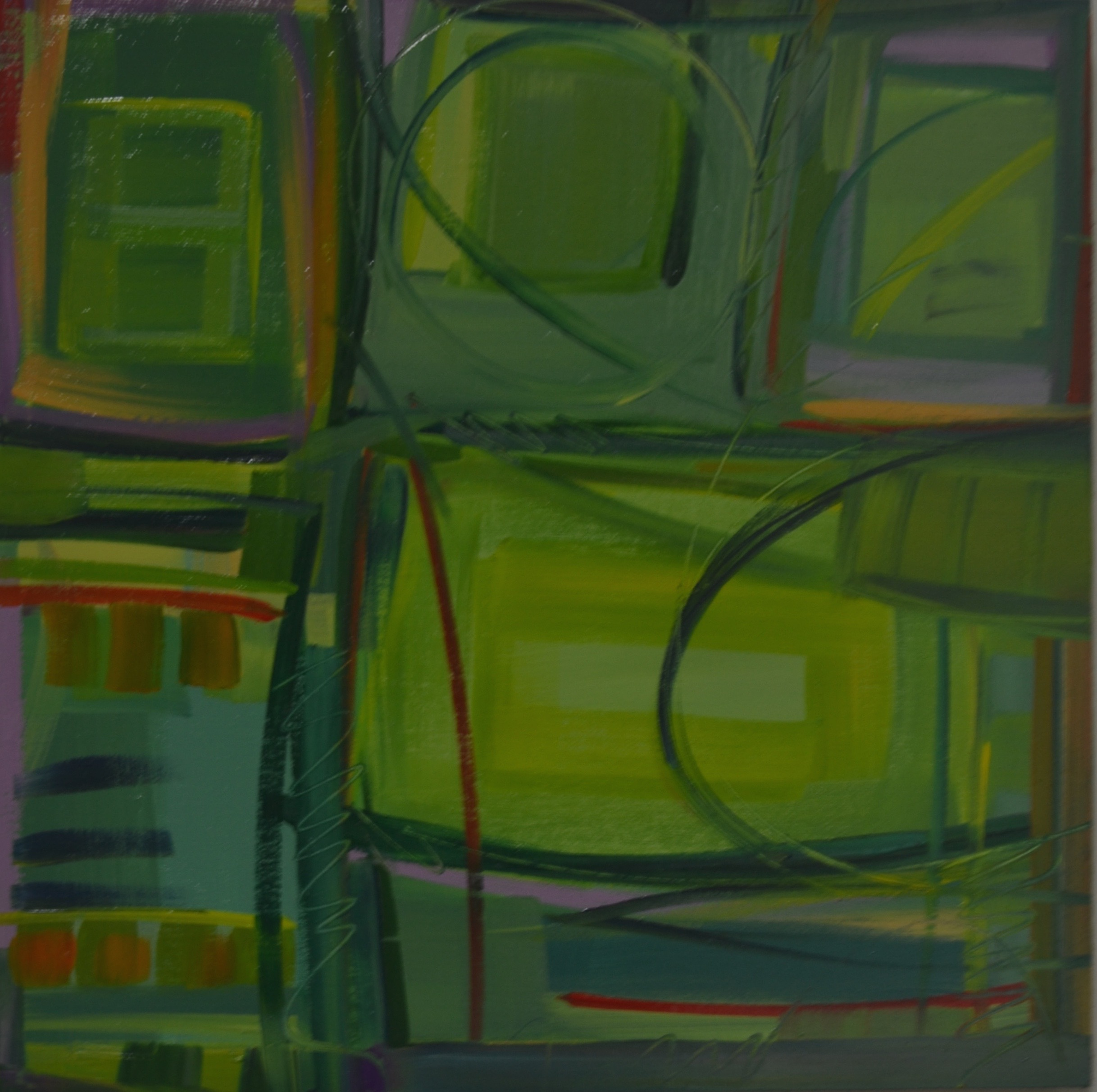 """Above Green Fields"" No. 4, 2016"