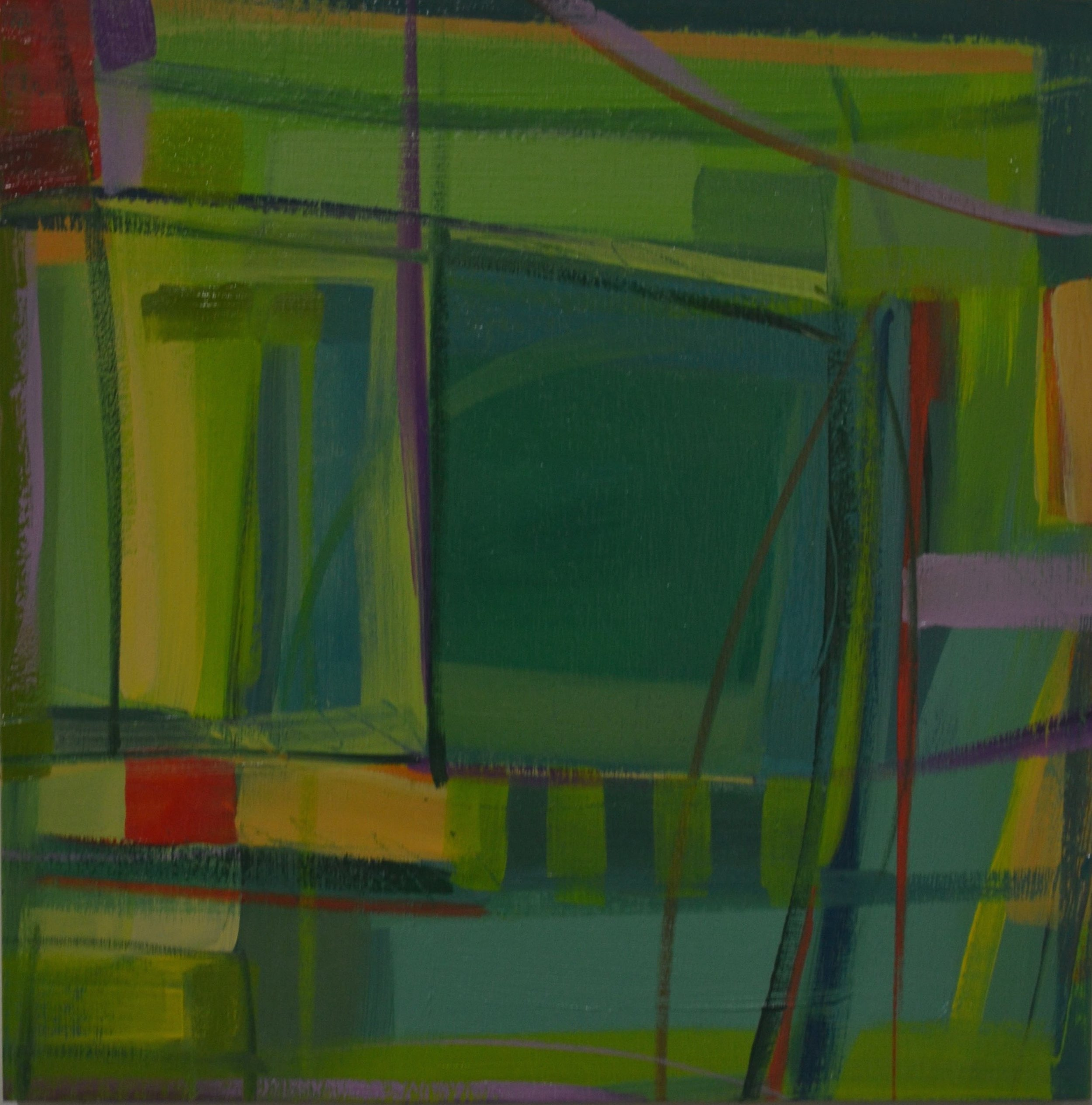 """Above Green Fields"" No. 7, 2016"