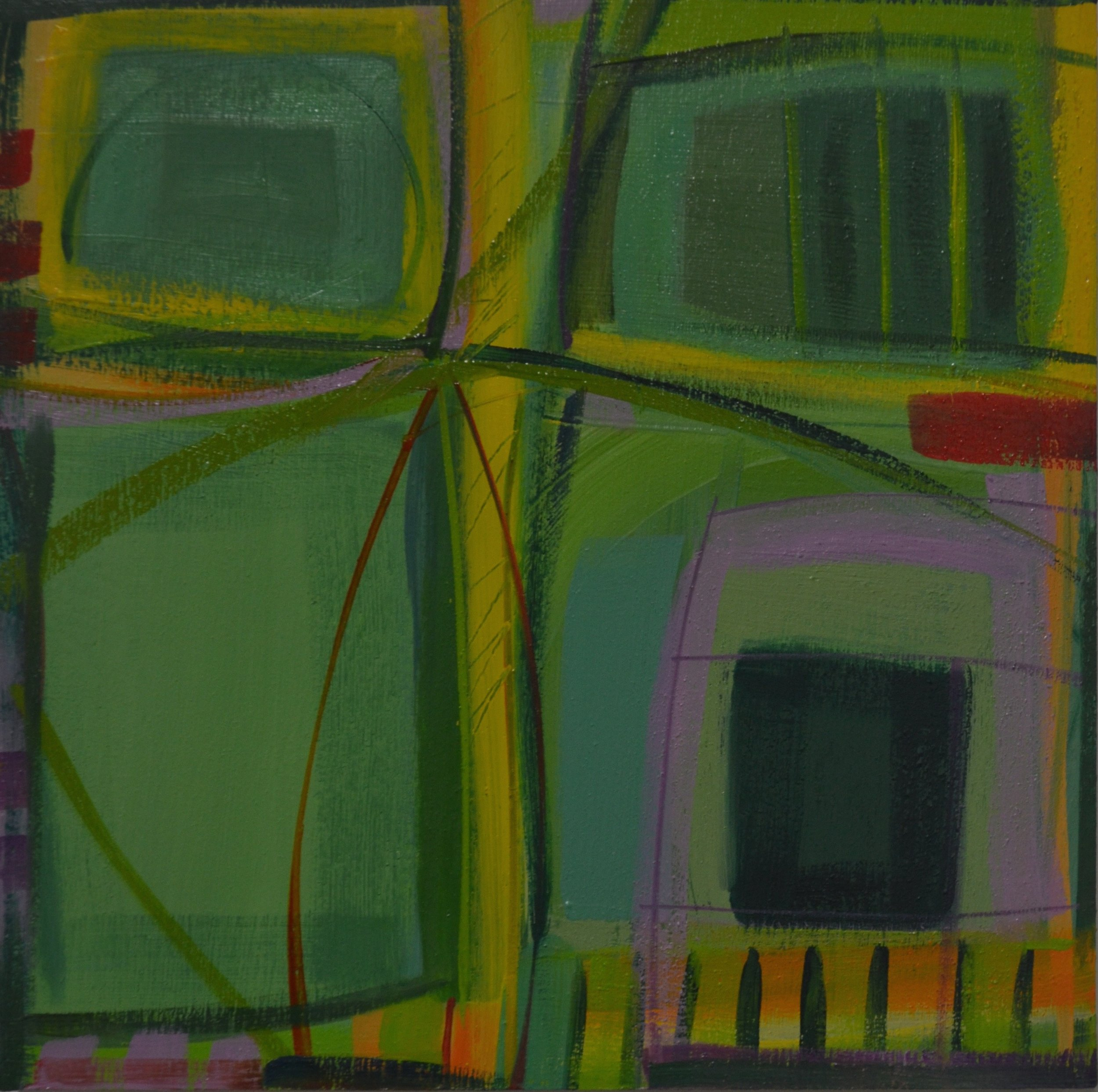 """Above Green Fields"" No. 2, 2016"