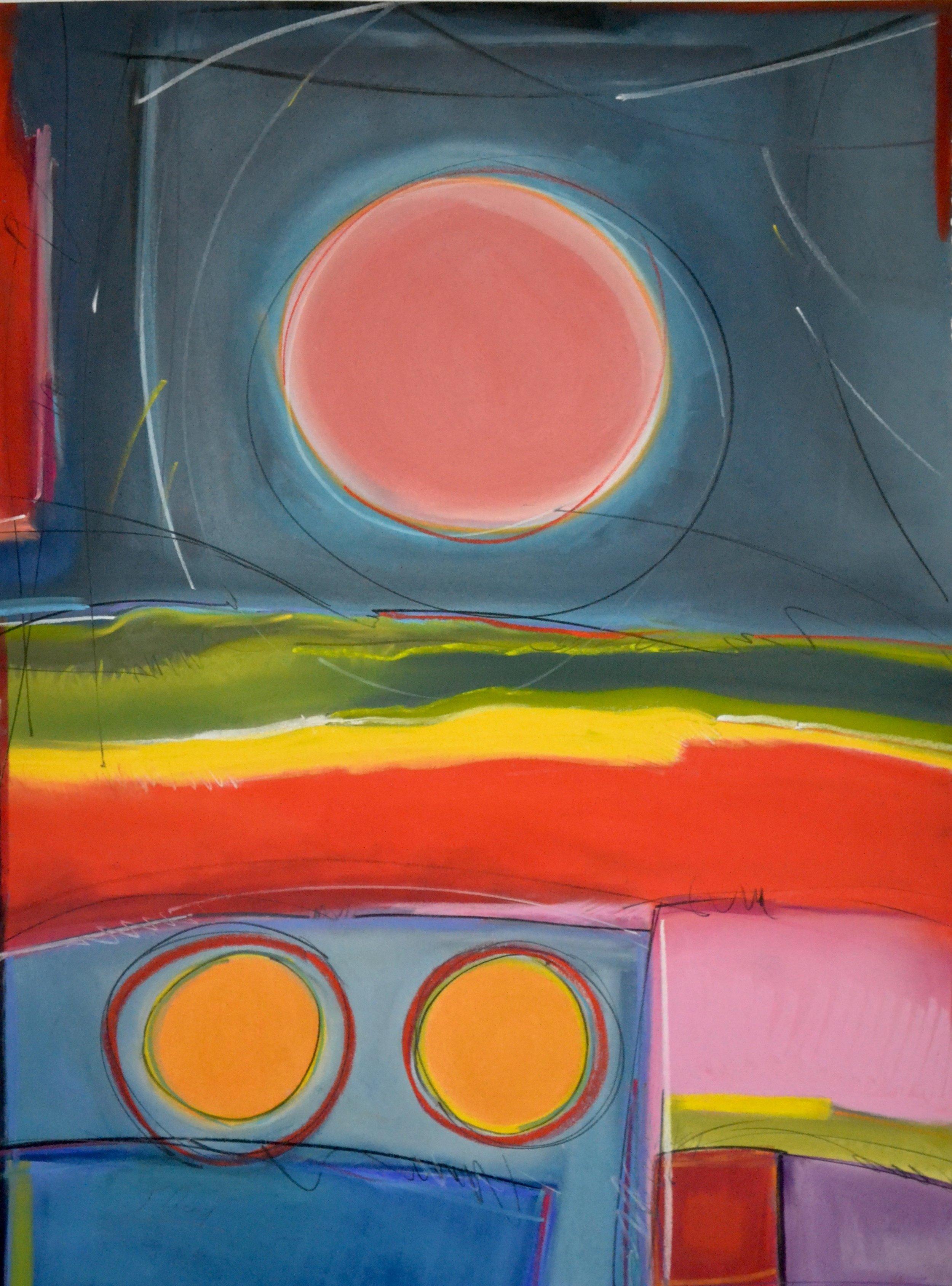 """""""Moon"""" Series No. 5, 2016"""