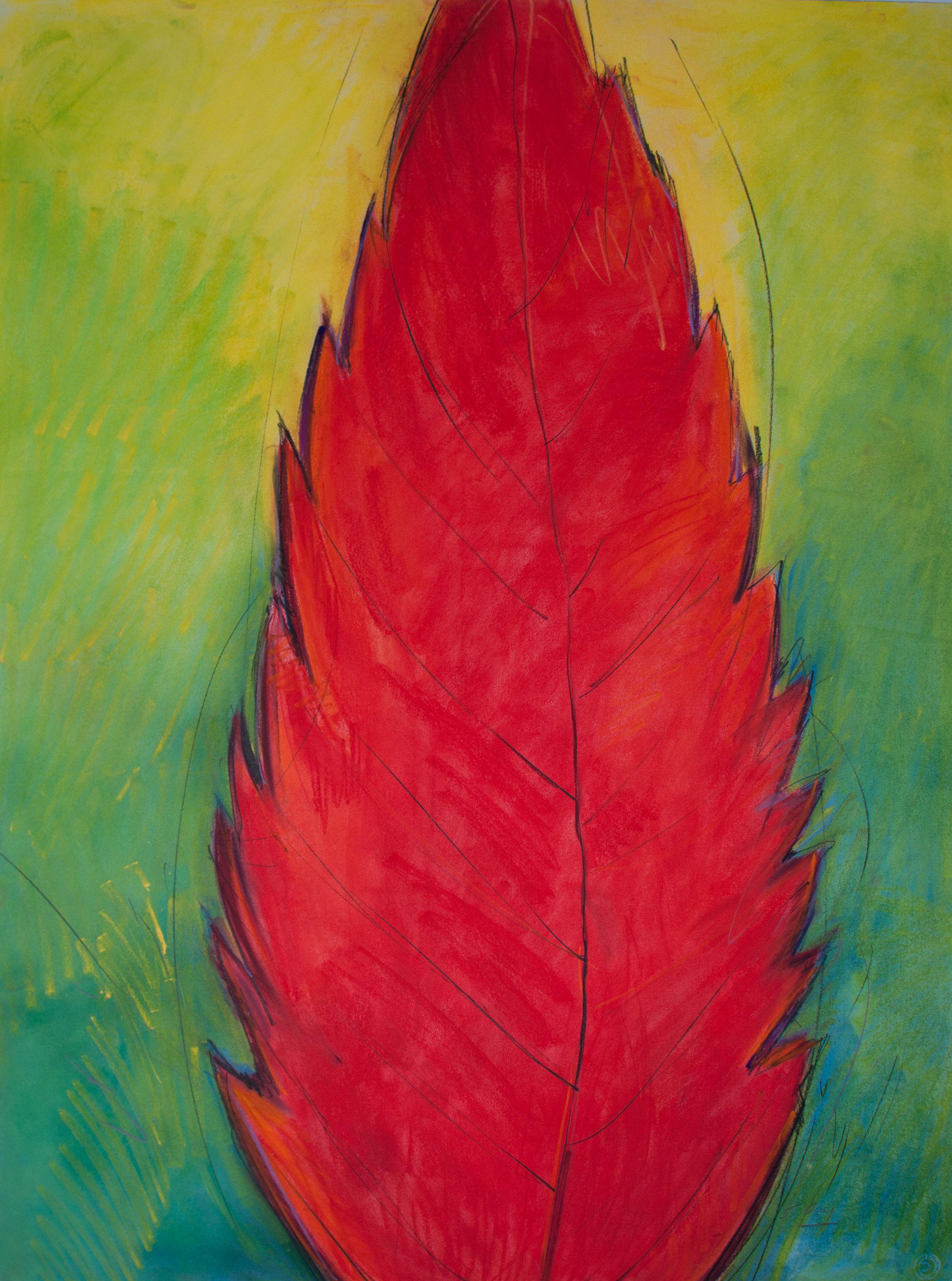 """""""Red Leaf"""", 2013"""