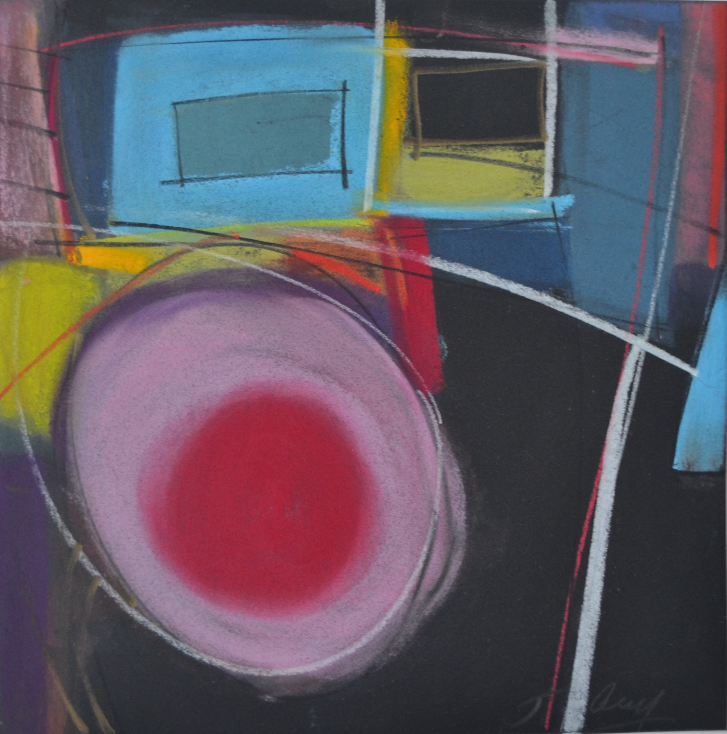 """""""Pink/Red Moon"""", 2105"""