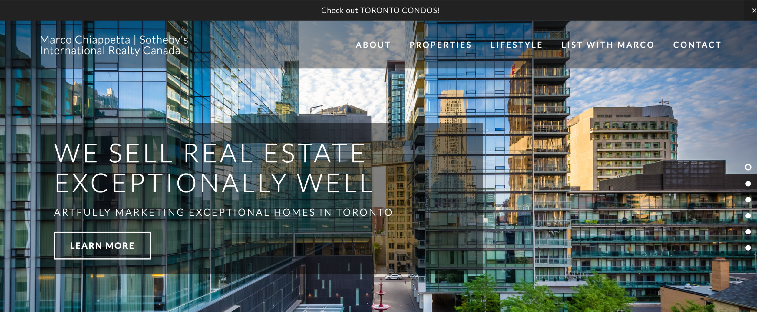 Real Estate Website Idea