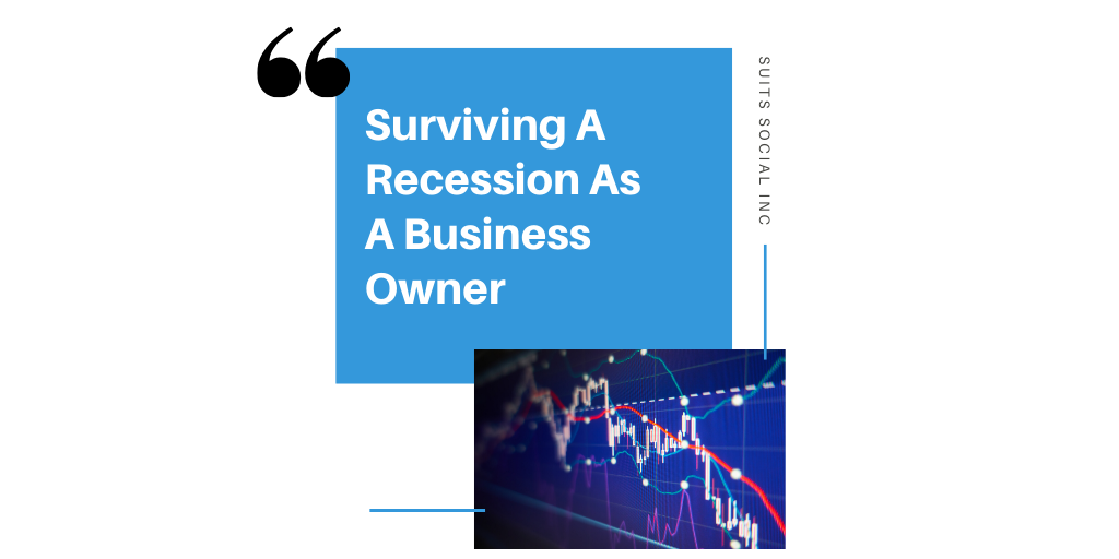 While there's no guarantee to accurately predict when a  recession  will hit, there are some principals that can indicate investors and bankers to look out for! However, Suits Social is here to share with you a few tips and tricks to  survive  a recession if it does occur and ensure your business is still booming!