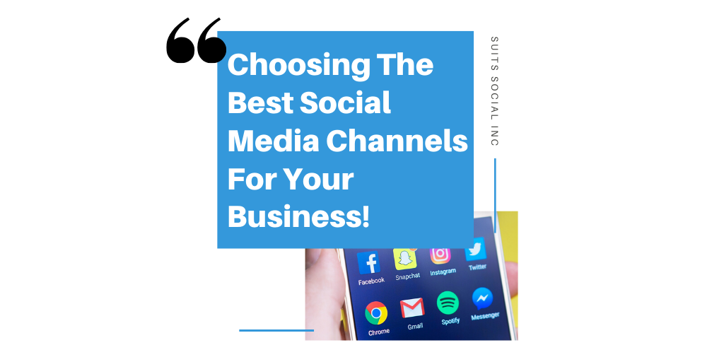Due to many social media channels being easily accessible to your business, it is hard to determine which one might fit your company best! Although it is best to be everywhere when it comes to social media marketing it is equally as important to focus your efforts on the channels that will connect you automatically to your target market. By choosing the best social media channels for your business you can connect with your desired leads, drive engagement to your brand and increase revenue for your company. Learn our six essential tips in order for you to pick the best social media channels for your business!