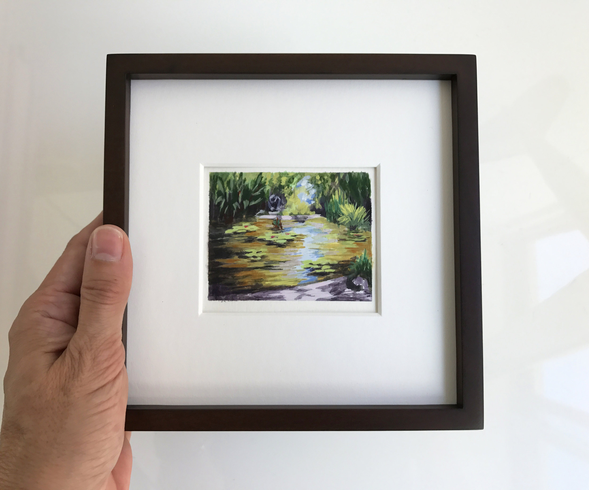 lily pond brown frame.jpg