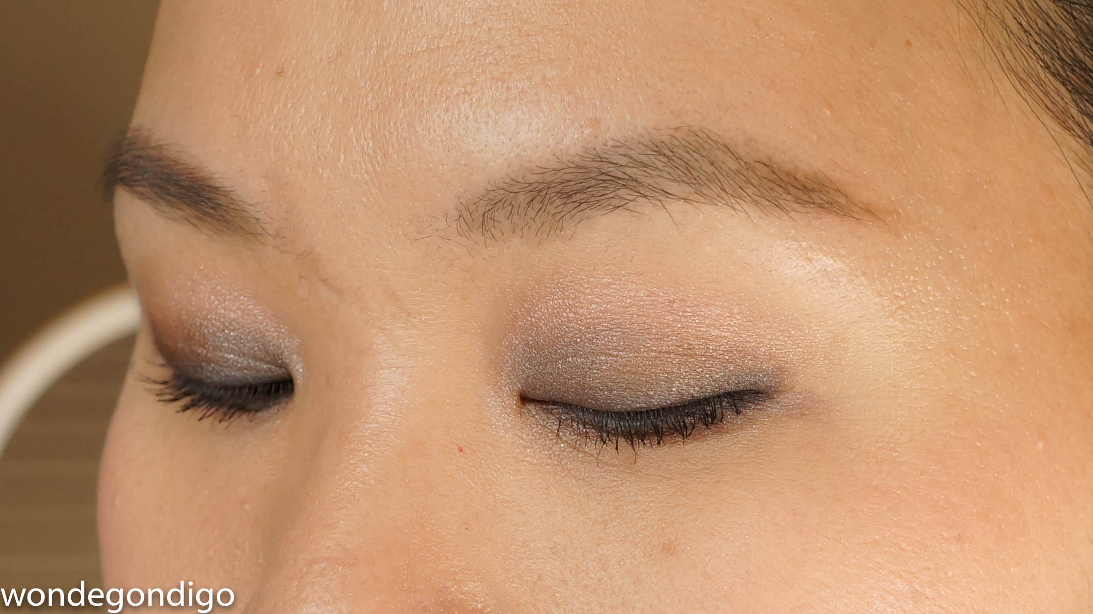 Here's a GIANT GIANT closeup of it on my eyes. Anyone have an idea how I can make this smaller on Squarespace?