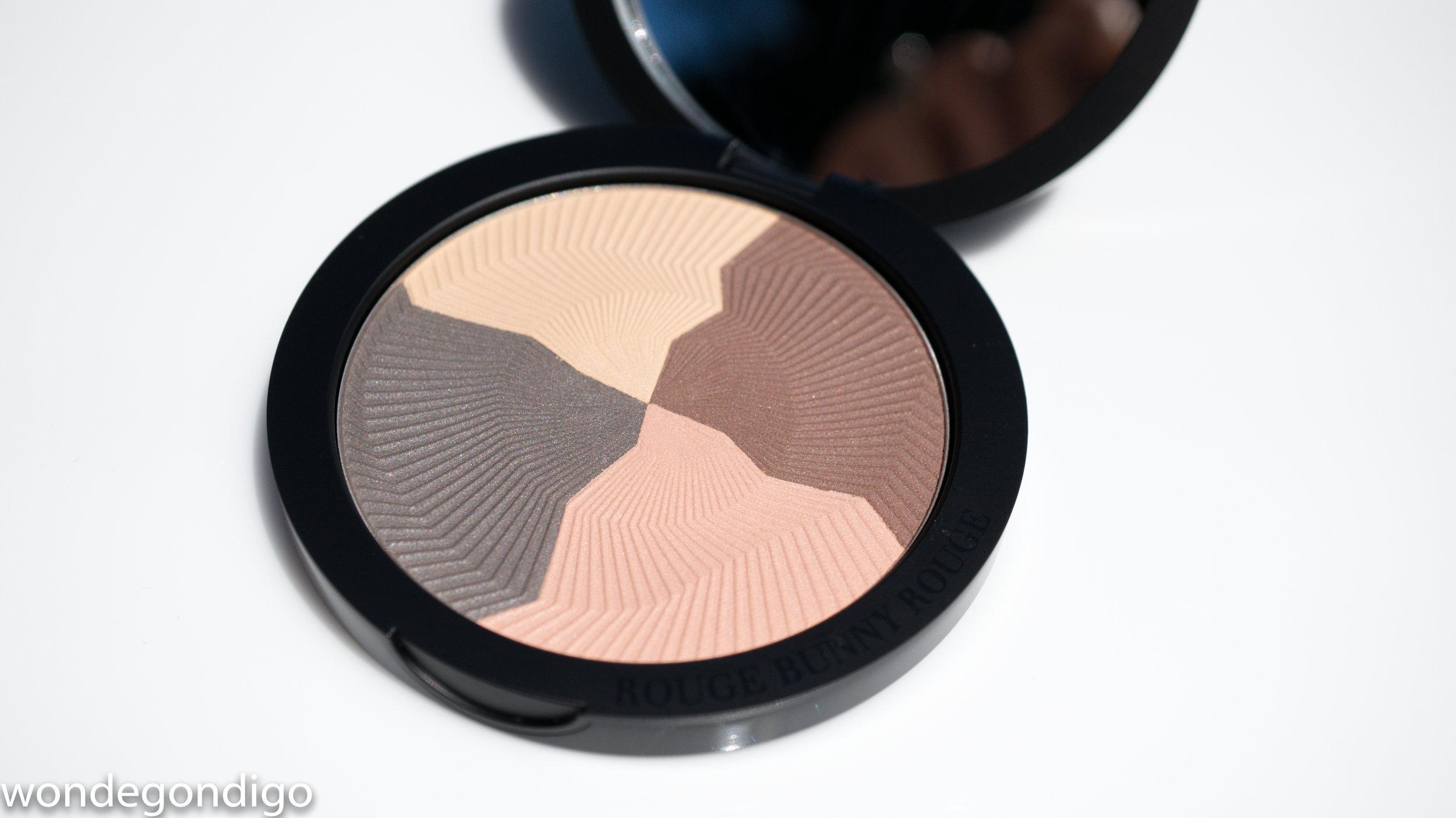Rouge Bunny Rouge Raw Garden Eye Shadow Palette in Loess