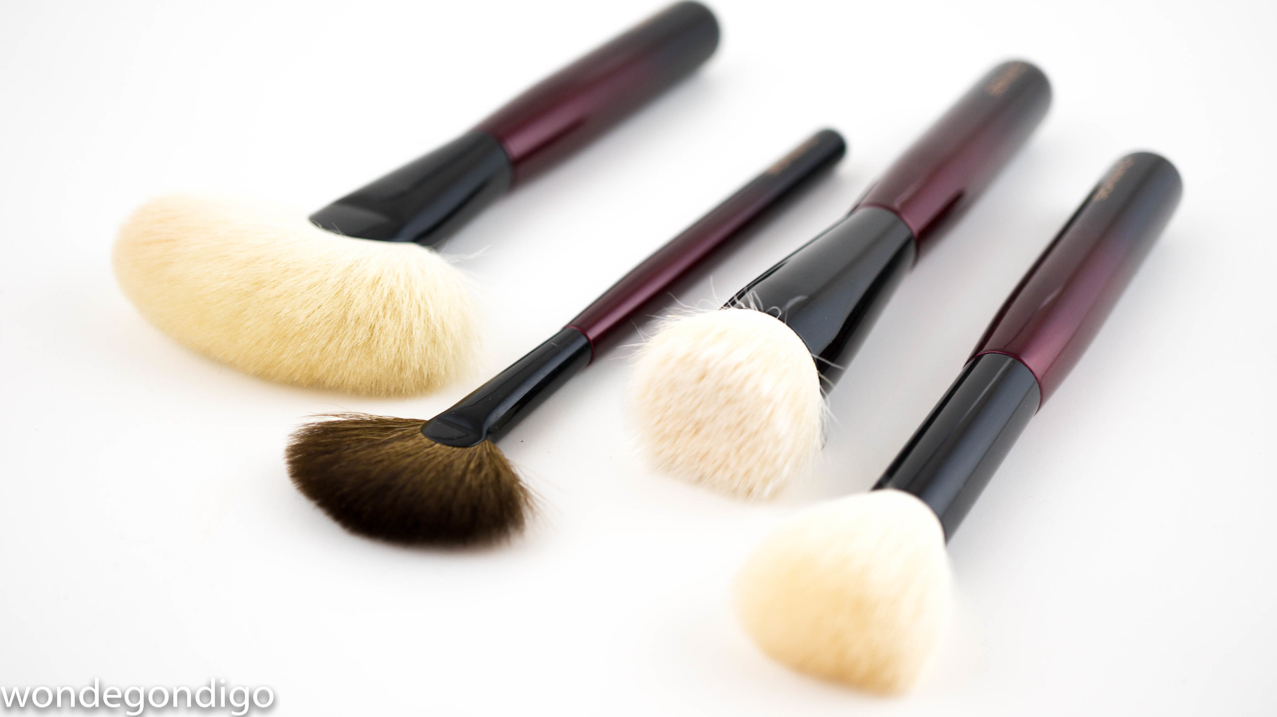 Face brushes in the Sonia G. Fundamental Brush Collection