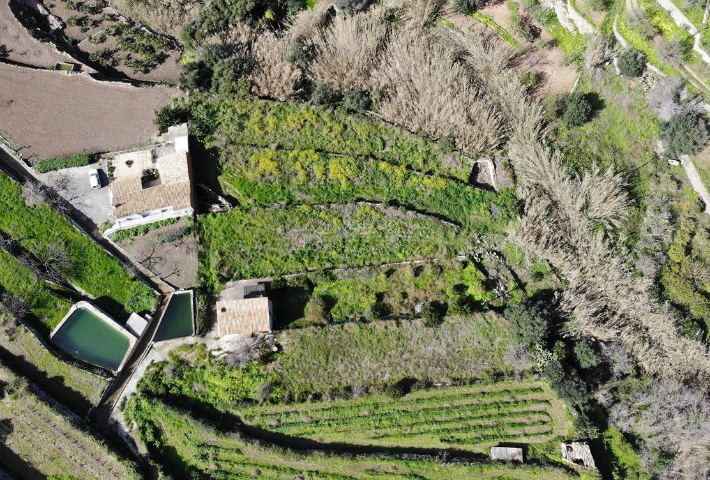 Sa Vinyassa Estellencs, Mallorca House renovation and landscape, under construction