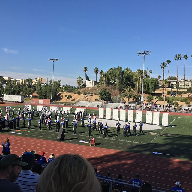 Yesterday, the marching band got third place overall and Top Visuals at the RCC Big Orange Classic! Great job Griffins!