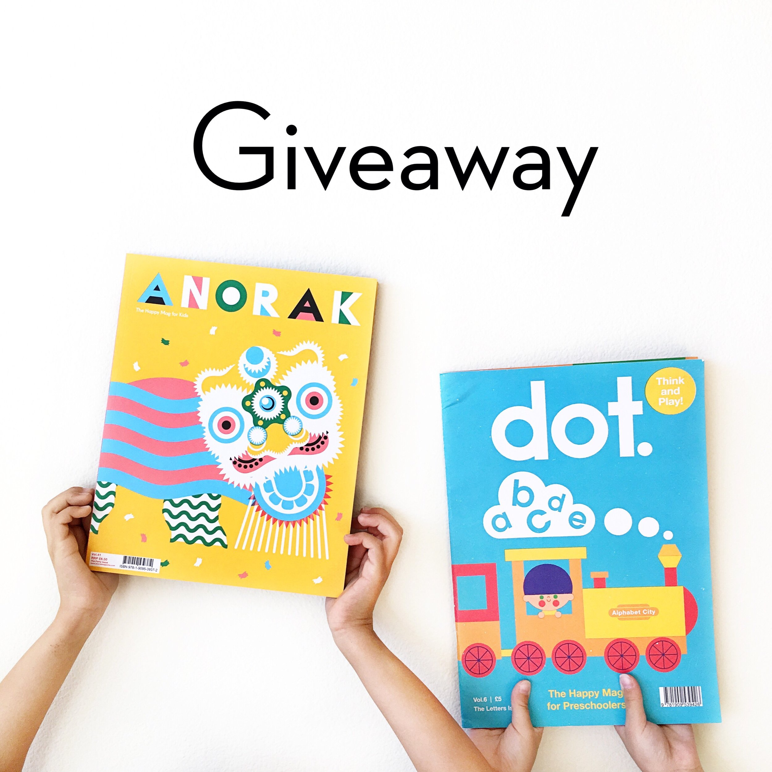 Dot and Anorak Magazine Giveaway | Little Lit Book Series