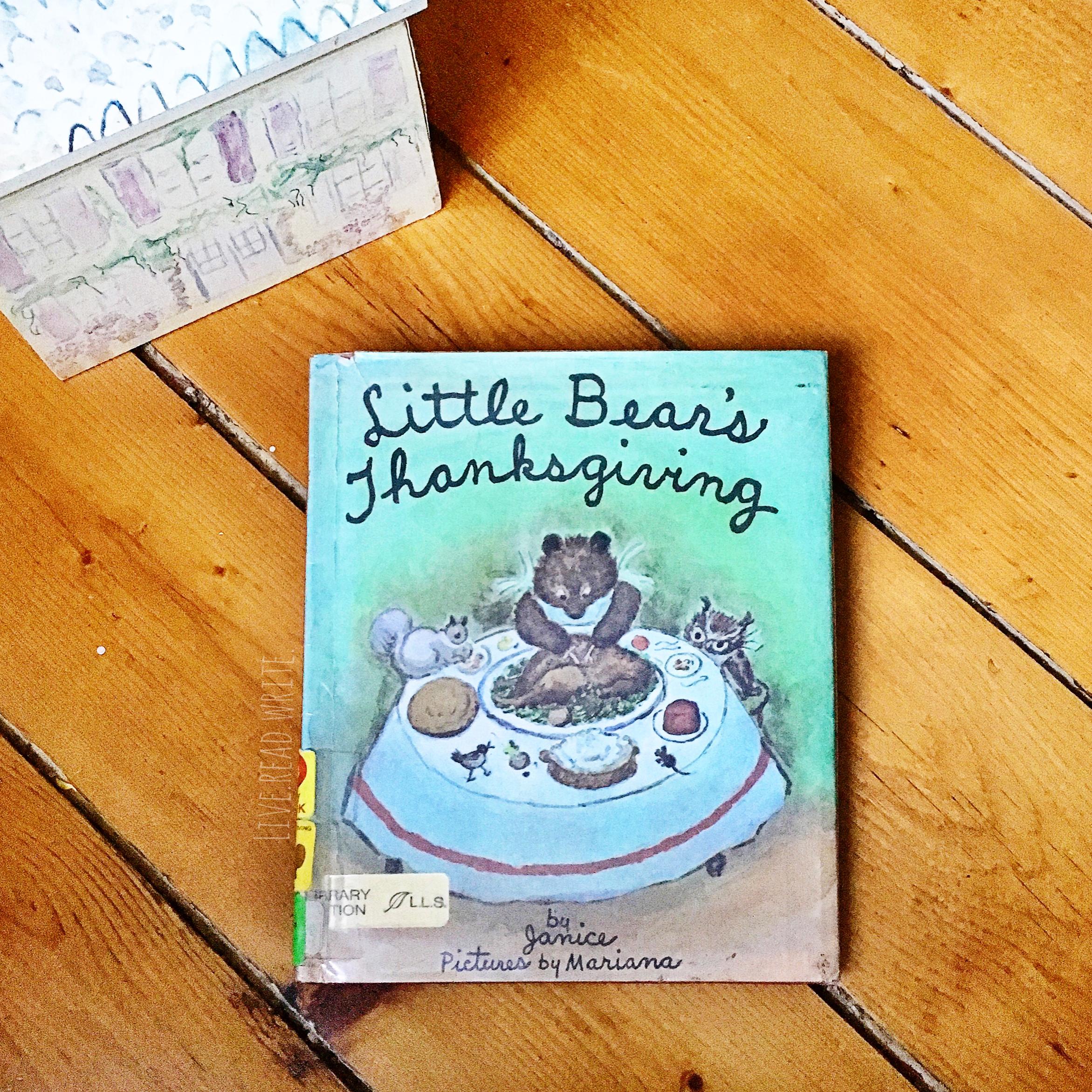 Little Bear's Thanksgiving | Little Lit Book Series
